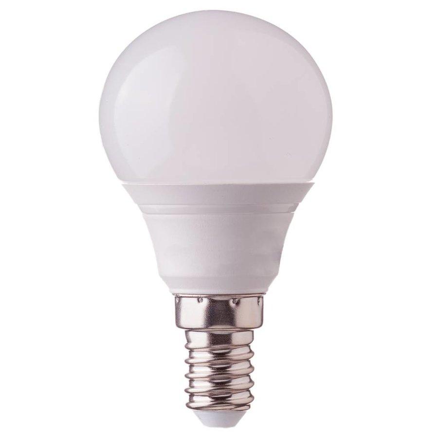 E14 led lamp 5 5 watt 2700k p45 replaces 40 watt intoled for Lampadine led 5 watt