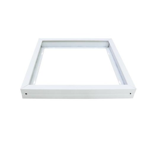 Mounting frame for LED Panel 60x60 color white