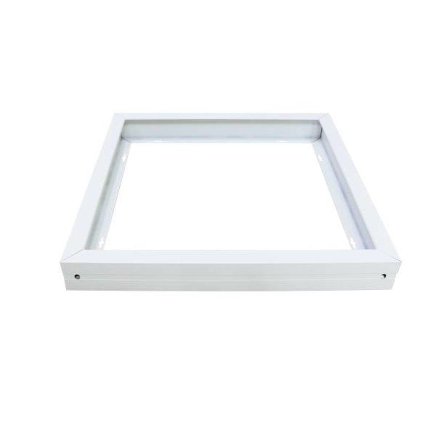 Opbouwframe voor LED paneel 60x60 kleur wit