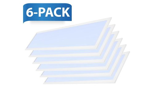 INTOLED LED panel 120x30 cm 36W 4320lm 6000K incl. driver 5 years warranty 6 pieces