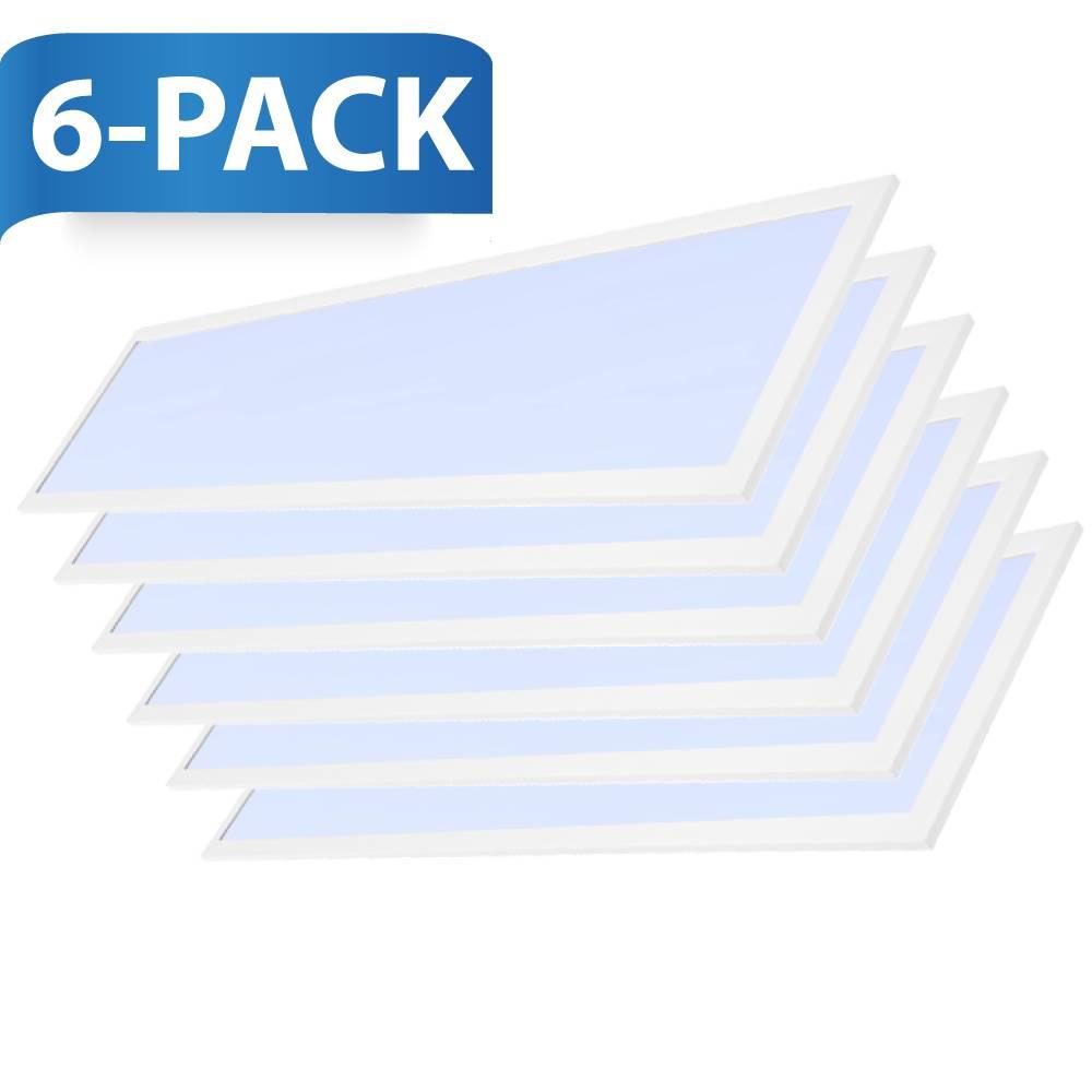 LED paneel 30x120 cm 36W 4320lm 6000K incl. trafo met 5 jaar garantie 6 stuks