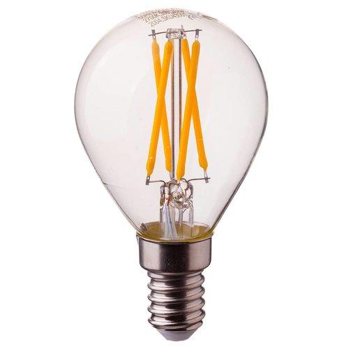 V-TAC LED Glühbirne P45 mit E14 Fassung 4 Watt 400lm extra Warmweiß 2700K