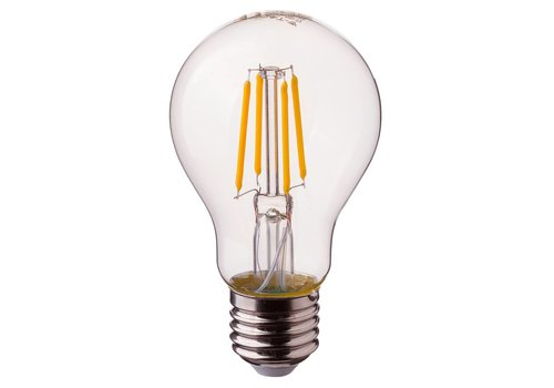 LED filament bulb A60 with E27 fitting 4 Watt 400lm extra warm white 2700K