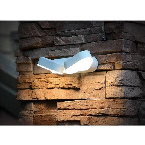 LED wall lamp adjustable color white 12 Watt 3000K IP65 waterproof