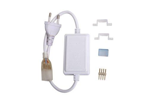 RGBW LED Lichtslang 1 knops  mini controller Plug & Play