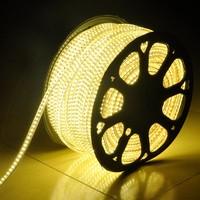 LED Lichtslang 50 meter 3000K warm wit 180 LEDs per meter IP65 incl. netsnoer Plug & Play