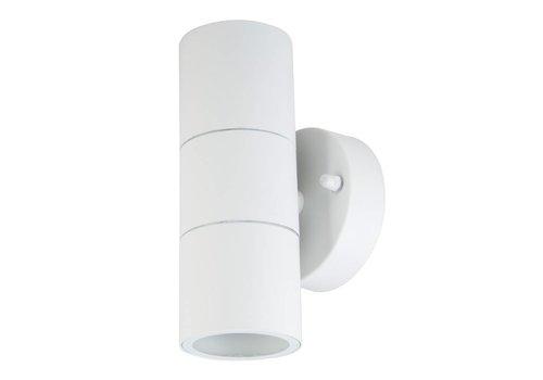V-TAC Wall light GU10 Round White Aluminum IP44