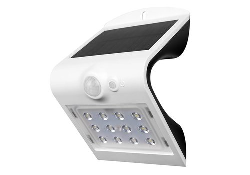 V-TAC LED Solar Wandlamp Wit 1,5 Watt 4000K Neutraal wit