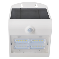LED Solar Lamp White 3 Watt 4000K Neutral white with motion sensor