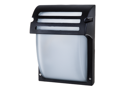 Traditional LED Wall Outdoor Lamp E27 IP44 Matt Black