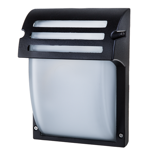 V-TAC Traditional LED Wall Outdoor Lamp E27 IP44 Matt Black