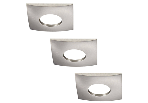 INTOLED Set of 3 dimmable LED downlights New York 5 Watt with Philips spot IP44 [waterproof]