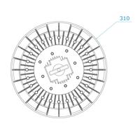 LED High bay 150W Dimbaar 4000K IP65 150lm/W 120° 5 jaar garantie