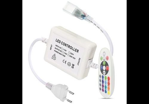 HOFTRONIC™ RGBW RF LED Empfänger inkl. Funk Fernbedienung Plug & Play