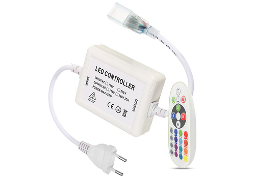 INTOLED RGBW RF LED dimmer incl. afstandsbediening  Plug & Play