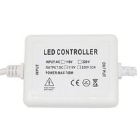 RGBW RF LED dimmer incl. multicolor afstandsbediening  Plug & Play