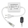 HOFTRONIC™ LED Lichtslang 230V RF dimmer Plug & Play incl. afstandsbediening met snoer en stekker (t.b.v. éénkleurige lichtslangen)