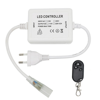 Aigostar LED-Lichtschlauch 50 Meter 3000K warmweiß 60 LEDS pro Meter IP65 inkl. Netzkabel Plug & Play