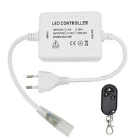 LED Light hose RF dimmer incl. Remote control suitable for single color LED Light hose