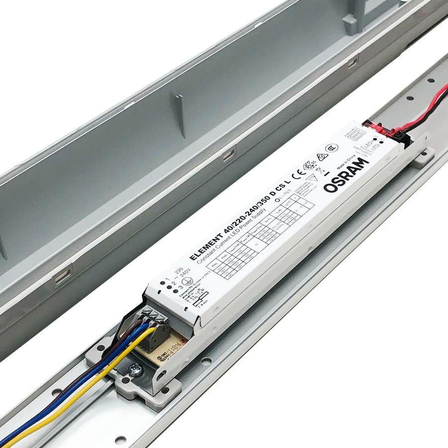 IP65 LED Armatuur 120 cm 36W 4320lm 4000K met Osram trafo koppelbaar en 3 jaar garantie