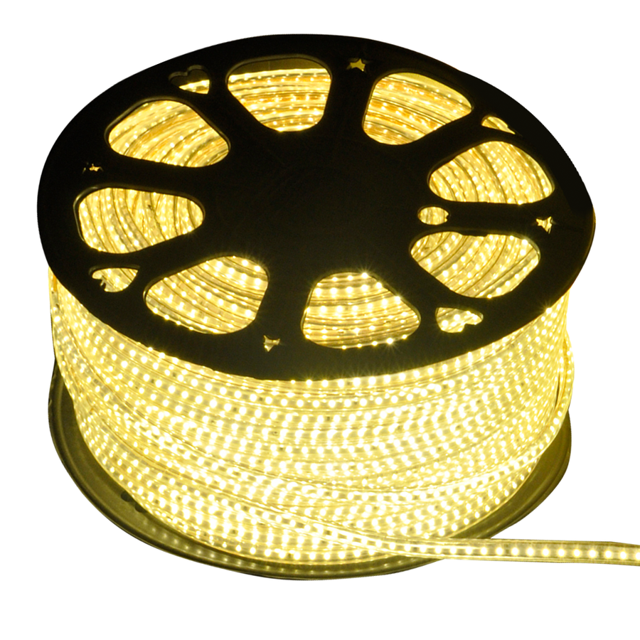 LED Light hose 50 meters 3000K warm white 60 LEDs per meter IP65 incl. power cable Plug & Play