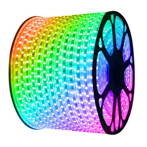 Aigostar LED Lichtslang plat 50m RGB 60 LEDs/m IP65 Plug & Play per 1m in te korten