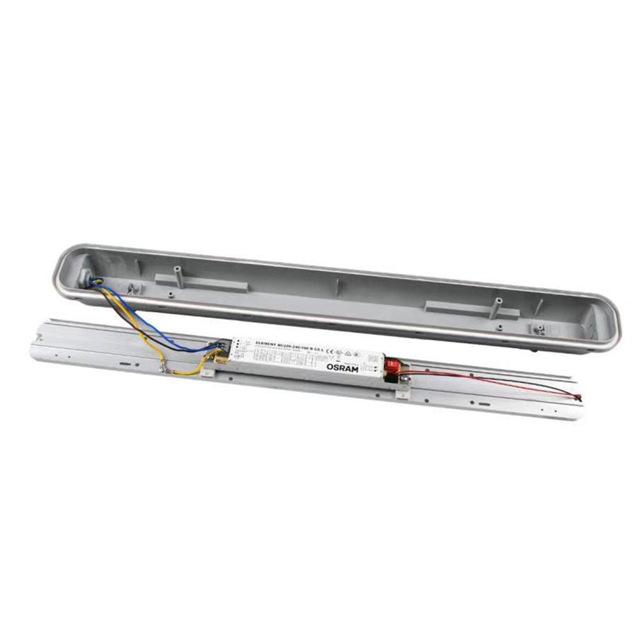 IP65 LED Armatuur 150 cm 50W 6000lm 4000K met Osram trafo koppelbaar en 3 jaar garantie