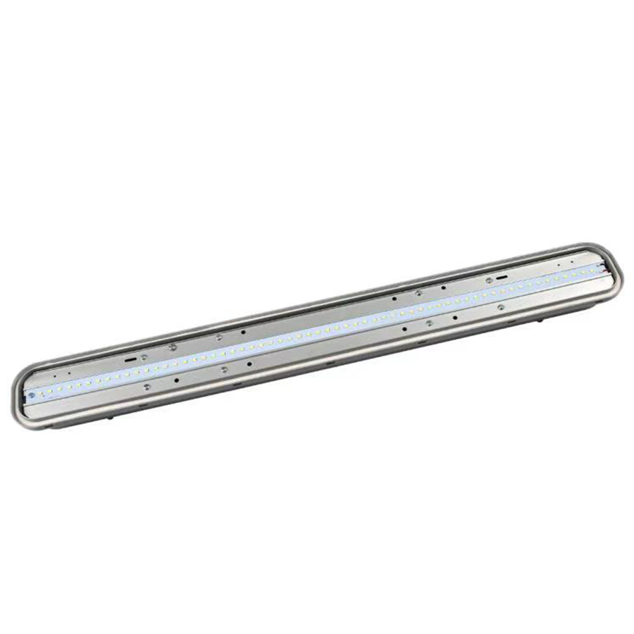 IP65 LED Luminaire 150 cm 50W 6000lm 6000K with Osram driver interlinkable and 3 year warranty