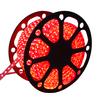 LED Lichtslang plat 50m kleur Rood 60 LEDs per meter IP65 incl. netsnoer Plug & Play per 1m in te korten
