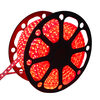 LED Light hose flat 50m Red 60 LEDs per meter IP65 incl. power cable Plug & Play cut per metre