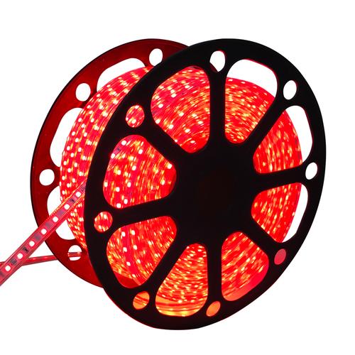 Aigostar LED Light hose flat 50m Red 60 LEDs per meter IP65 Plug & Play cut per metre