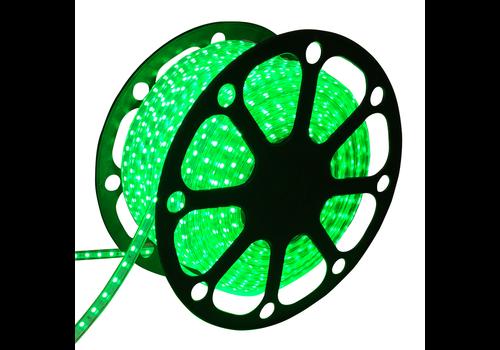 LED Lichtschlauch flach 50m Farbe Grün 60 LEDs/m IP65 Plug & Play