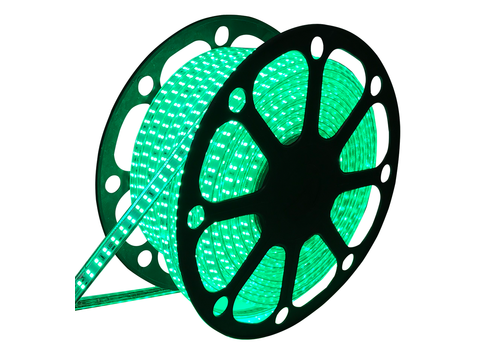 Aigostar LED-Lichtschlauch 50 Meter Grün 180 LEDS pro meter IP65 inkl. Netzkabel Plug & Play