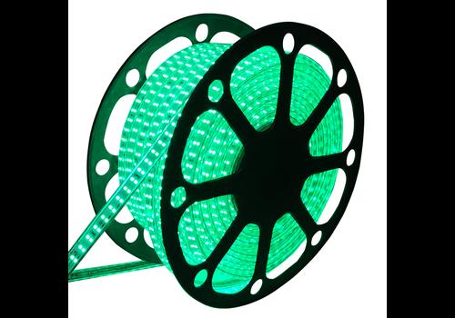 LED Light hose flat 50m colour green 180 LEDs/m IP65 Plug & Play cut per metre