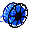 LED Light hose 50 meters Blue 180 LEDs per meter IP65 incl. power cable Plug & Play
