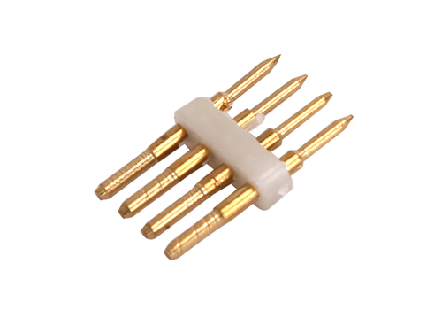 Aigostar 4-pins Standaard LED Lichtslang verbinder recht 10 Stuks - RGBW