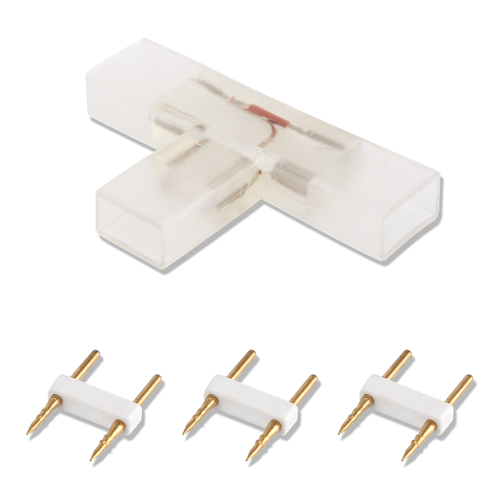 2-pins T-connector per 10 Stuks - voor 180 LEDs