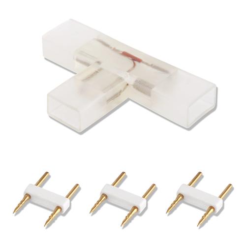 2-pins waterdichte T-connector per 10 Stuks - 5050 / 60 LEDs