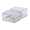 Aigostar 2-pins waterdichte connector 10 stuks (één kleur) niet geschikt voor RGBW - 2835 / 180 LEDs