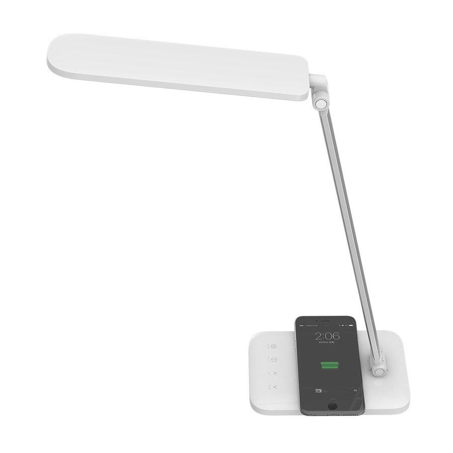 LED Bureaulamp 7 Watt incl. draadloze oplader 3-in-1 witte kleuren