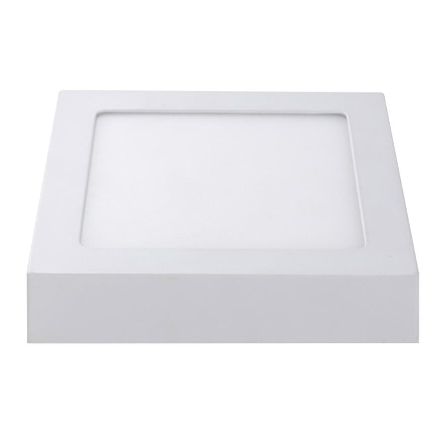 LED Deckenleuchte Viereckig 6 Watt 6000K 420lm - Deckenaufbauleuchte