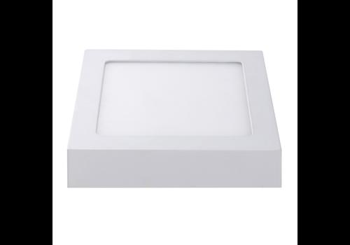 Aigostar LED Plafonnière Vierkant 12 Watt 3000K 750lm - Opbouw plafondlamp