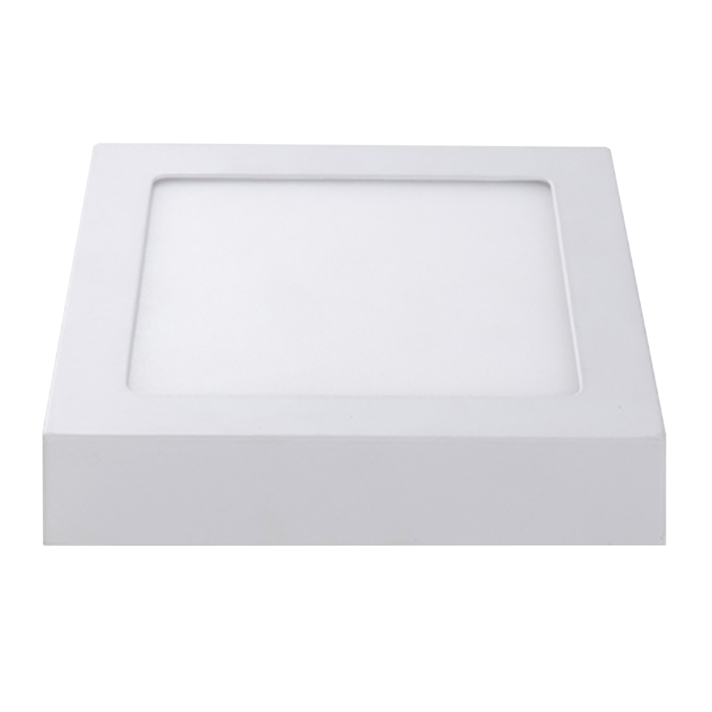 LED Plafonni�re Vierkant 12 Watt 3000K 750lm - Opbouw plafondlamp