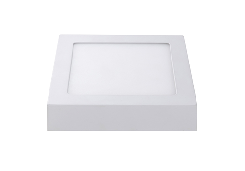 LED Ceiling light Square 12 Watt 6000K 750lm - Surface mounted ceiling lamp