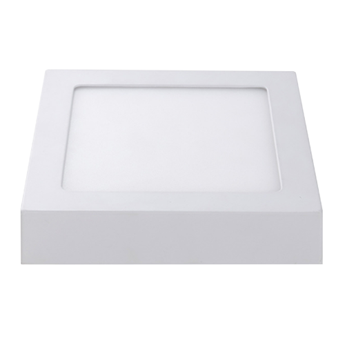 LED Plafonnière Vierkant 12 Watt 6000K 750lm - Opbouw plafondlamp