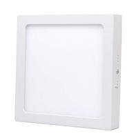LED Plafonnière Vierkant 12 Watt 3000K 750lm - Opbouw plafondlamp