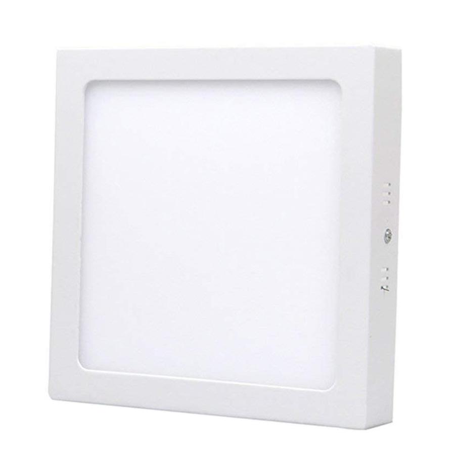 LED Plafonnière Vierkant 12 Watt 4000K 750lm - Opbouw plafondlamp