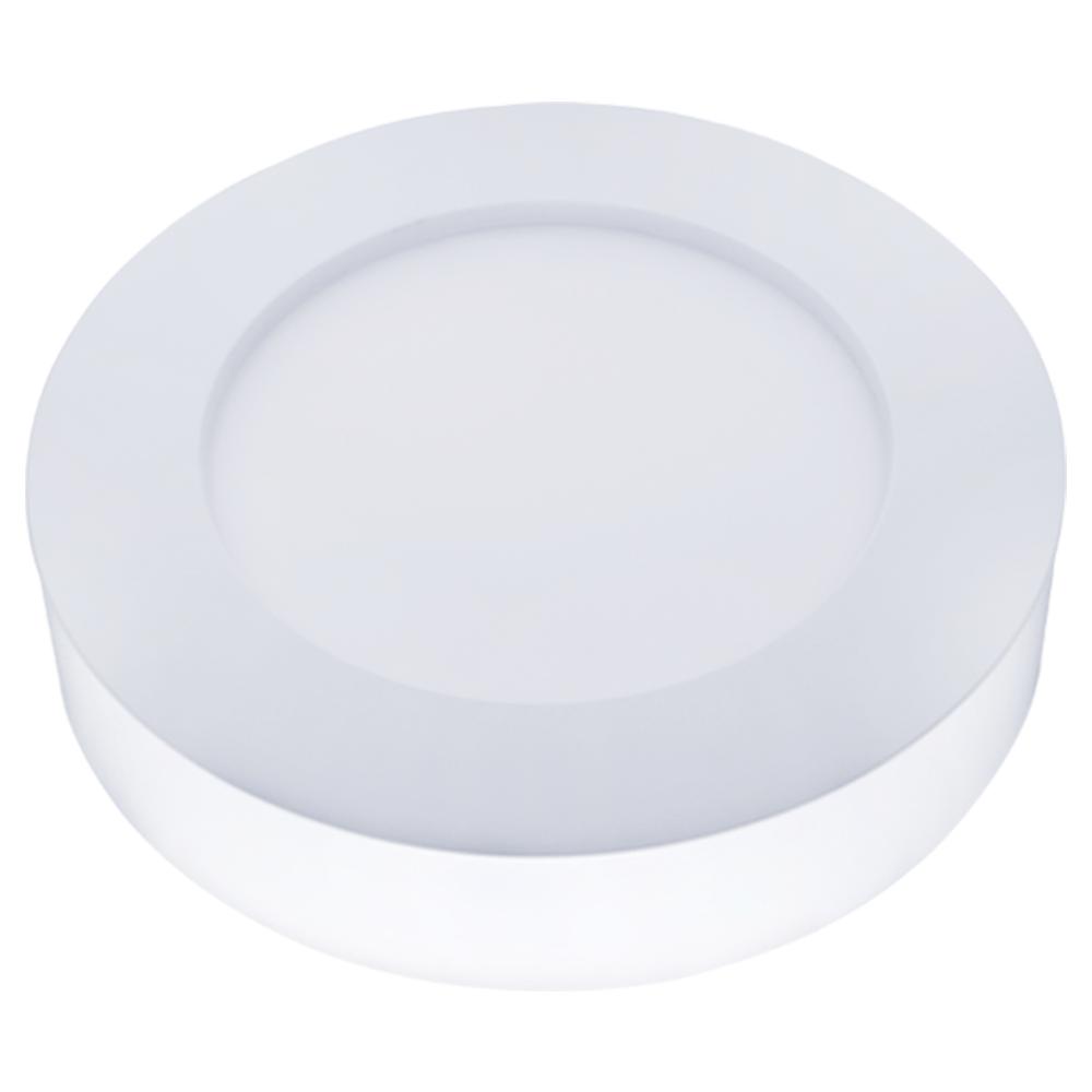 LED Plafonni�re Rond 6 Watt 3000K 420lm - Opbouw plafondlamp