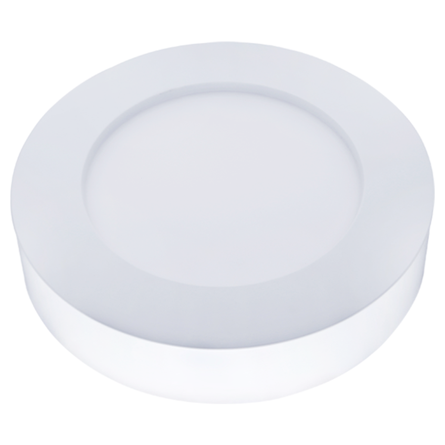 LED Ceiling light Round 6 Watt 6000K 420lm - Surface mounted ceiling lamp