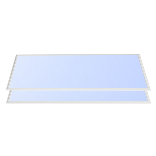 2x LED panel 60x120 60W 7200lm 6000K incl. driver 5 years warranty